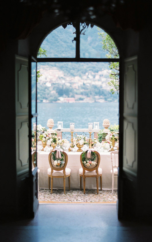 Photo wedding lake como